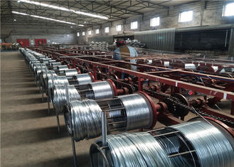 Automatic Wire Galvanizing Line Customized Voltage For Construction Binding Wire